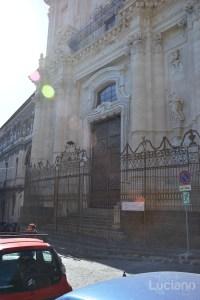 Facciata della Chiesa di San Benedetto, durante i festeggiamenti per Sant'Agata 2019 - Catania (CT)