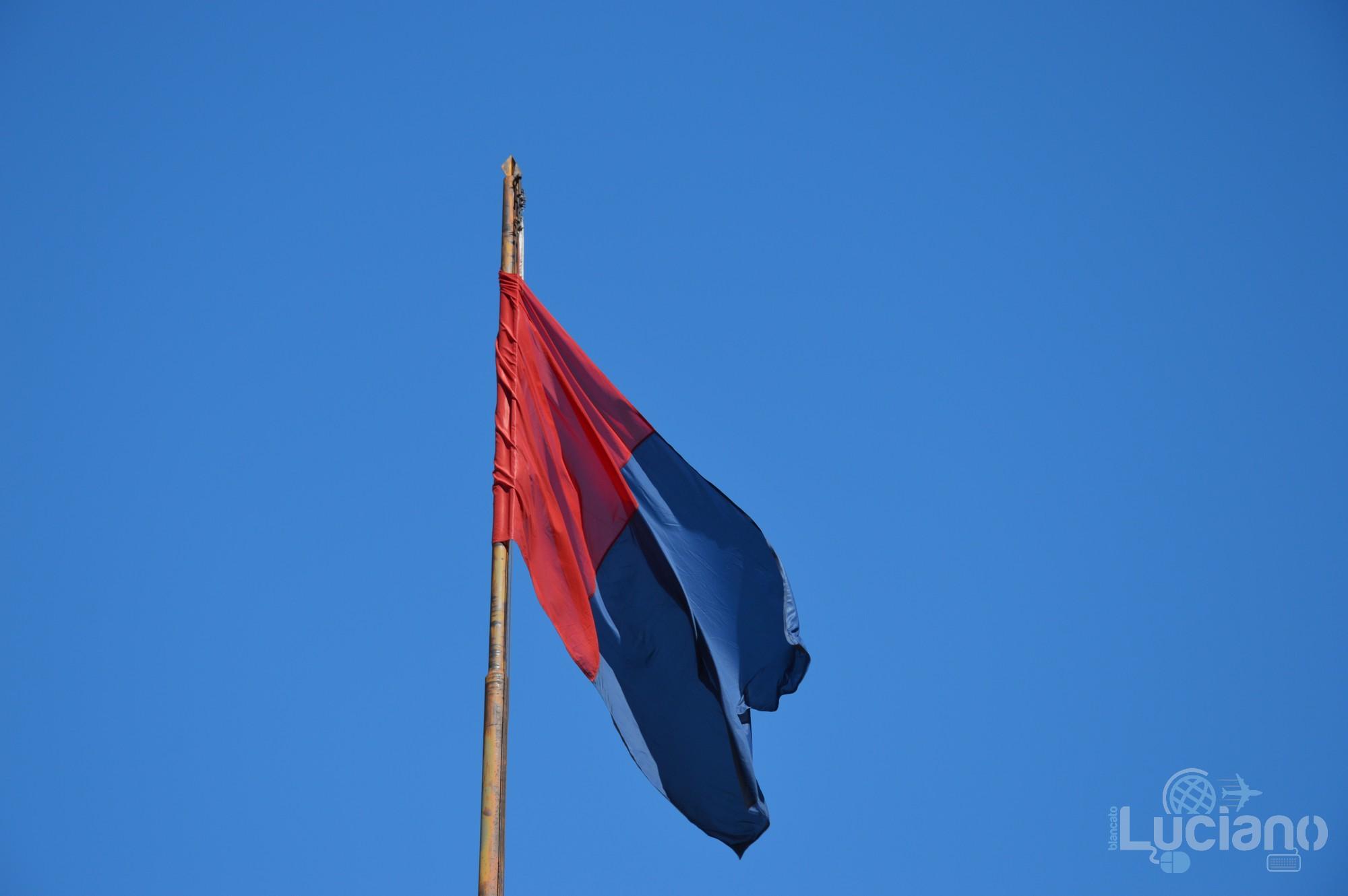 Bandiera di Catania - In giro per catania, durante i festeggiamenti per Sant'Agata 2019 - Catania (CT)