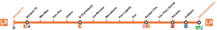 Metro L9S - Barcellona