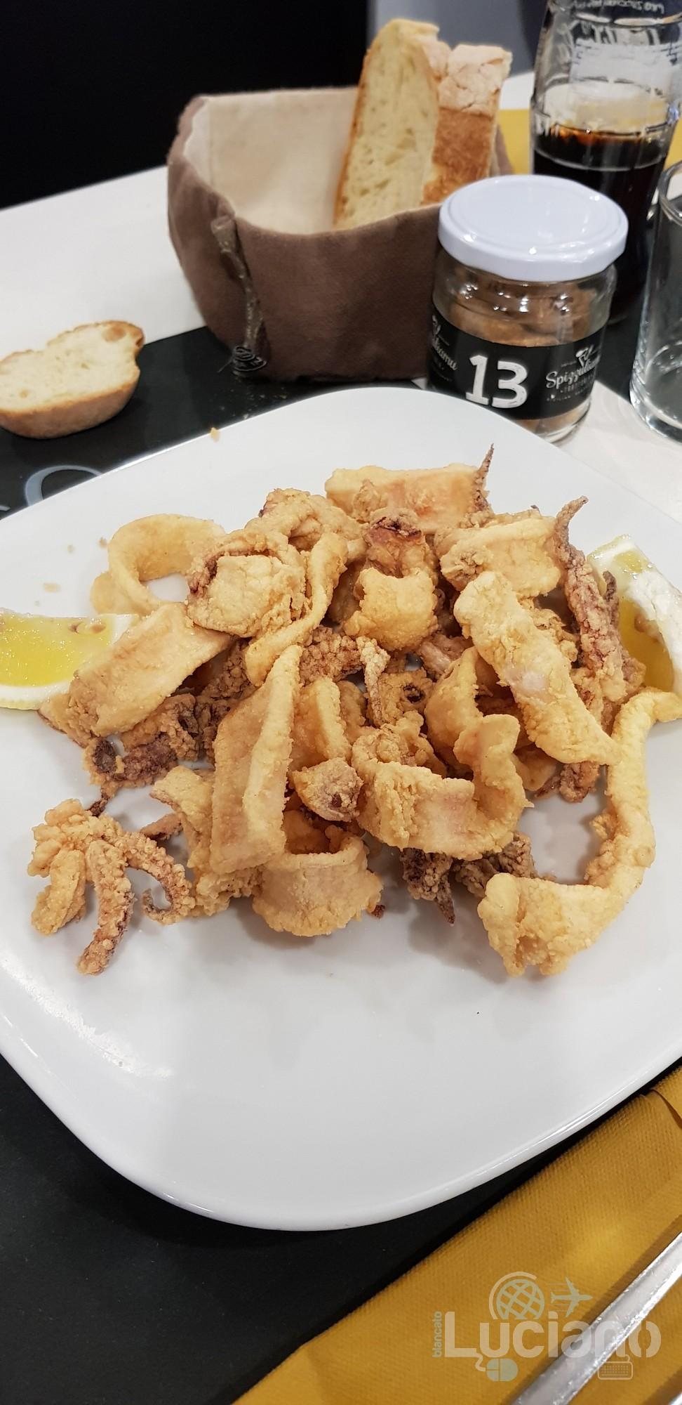 Siracusa - Spizzuliamu - Frittura di Calamari