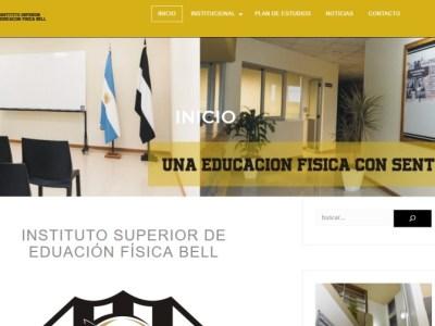 Sitio web del ISEF Bell