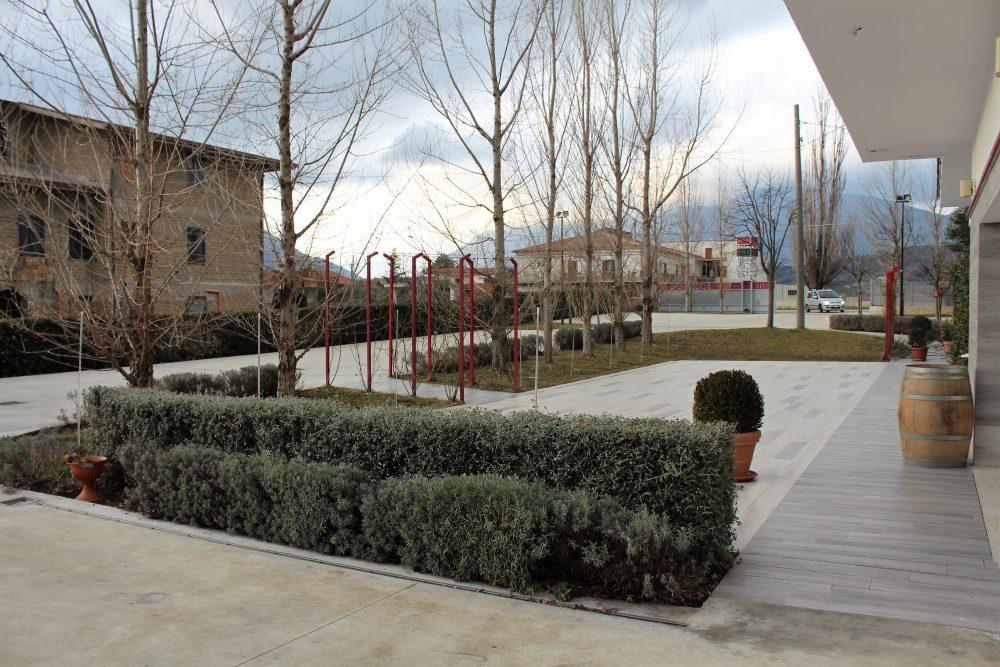 Cantina Castelle – veduta esterna