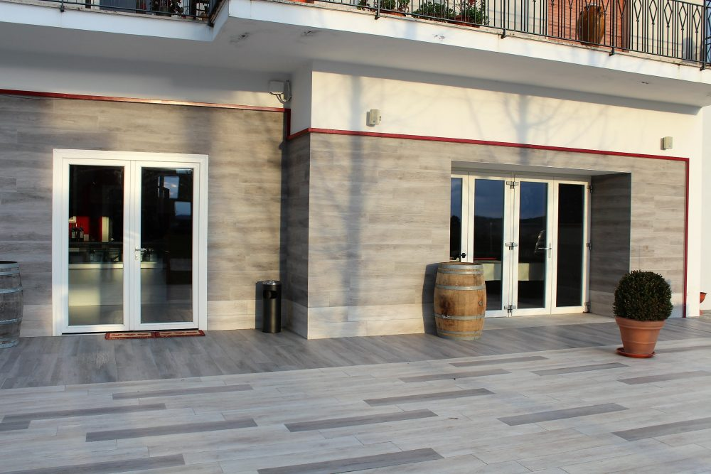 Cantina Castelle – area degustativa e cantina