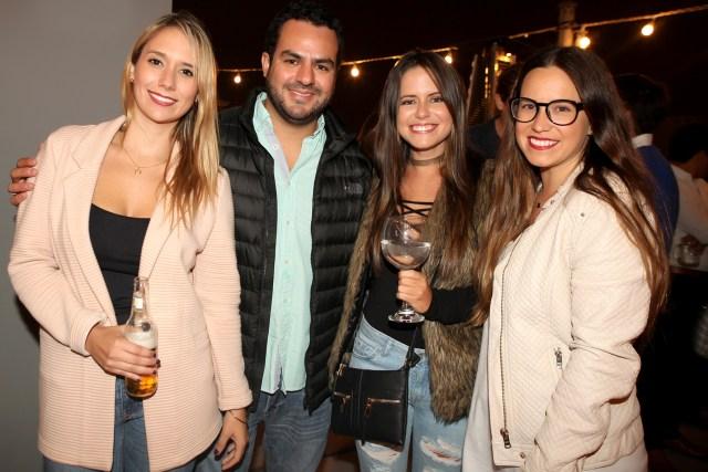 Tamara Schmid, Julio Medina, Aránzu Noriega y Rafaela Del Campo