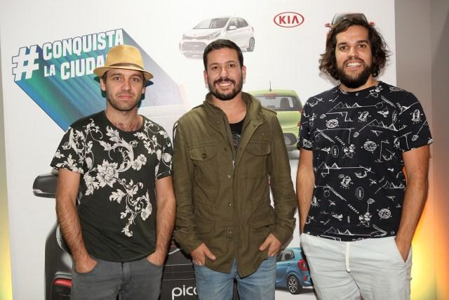 Luis Buckley, Paul Schabauer y Alonso Briceño