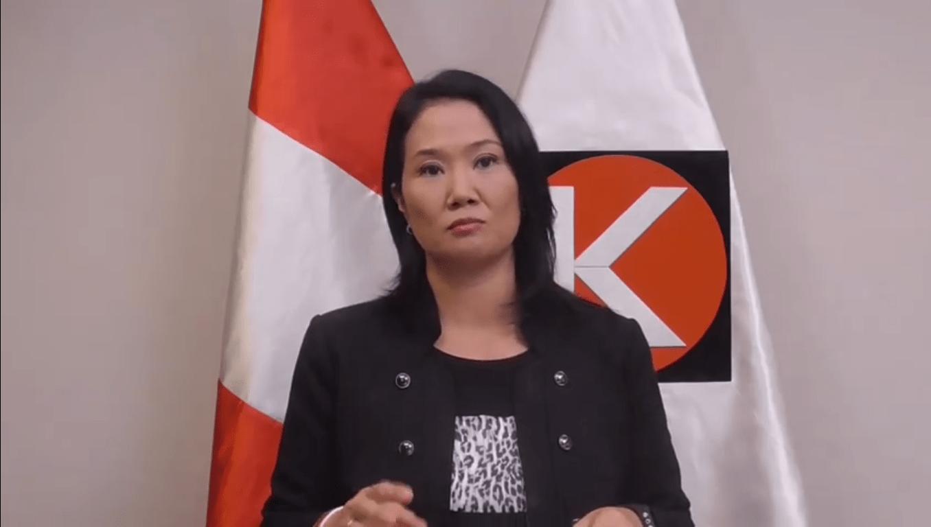 Ministerio Público incauta información sobre Fuerza Popular en la ONPE — Keiko Fujimori