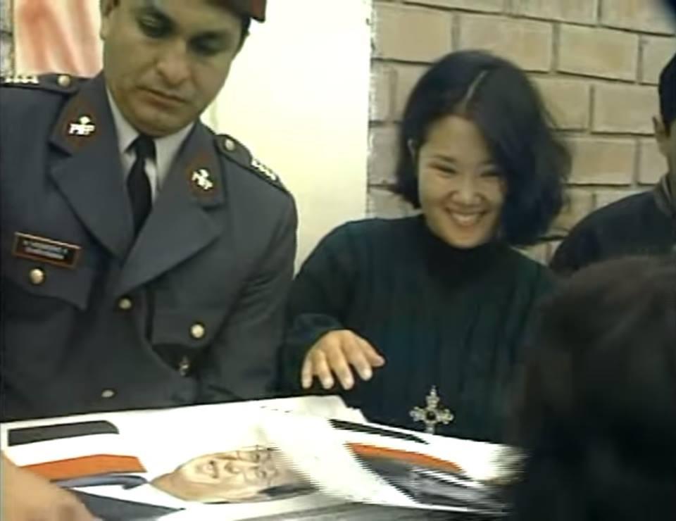 Romero sobre foto con Keiko: