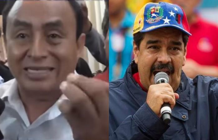 Gregorio Santos calificó de esta forma el gobierno de Venezuela