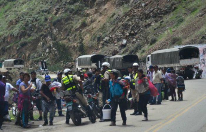 Huánuco: Continúan disturbios por protesta de productores de papa