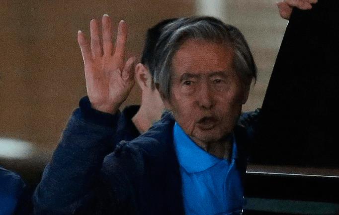 Alberto Fujimori internado en clínica por deshidratación aguda