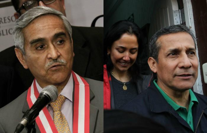 TC evalúa recurso que busca obtener su libertad — Humala y Heredia