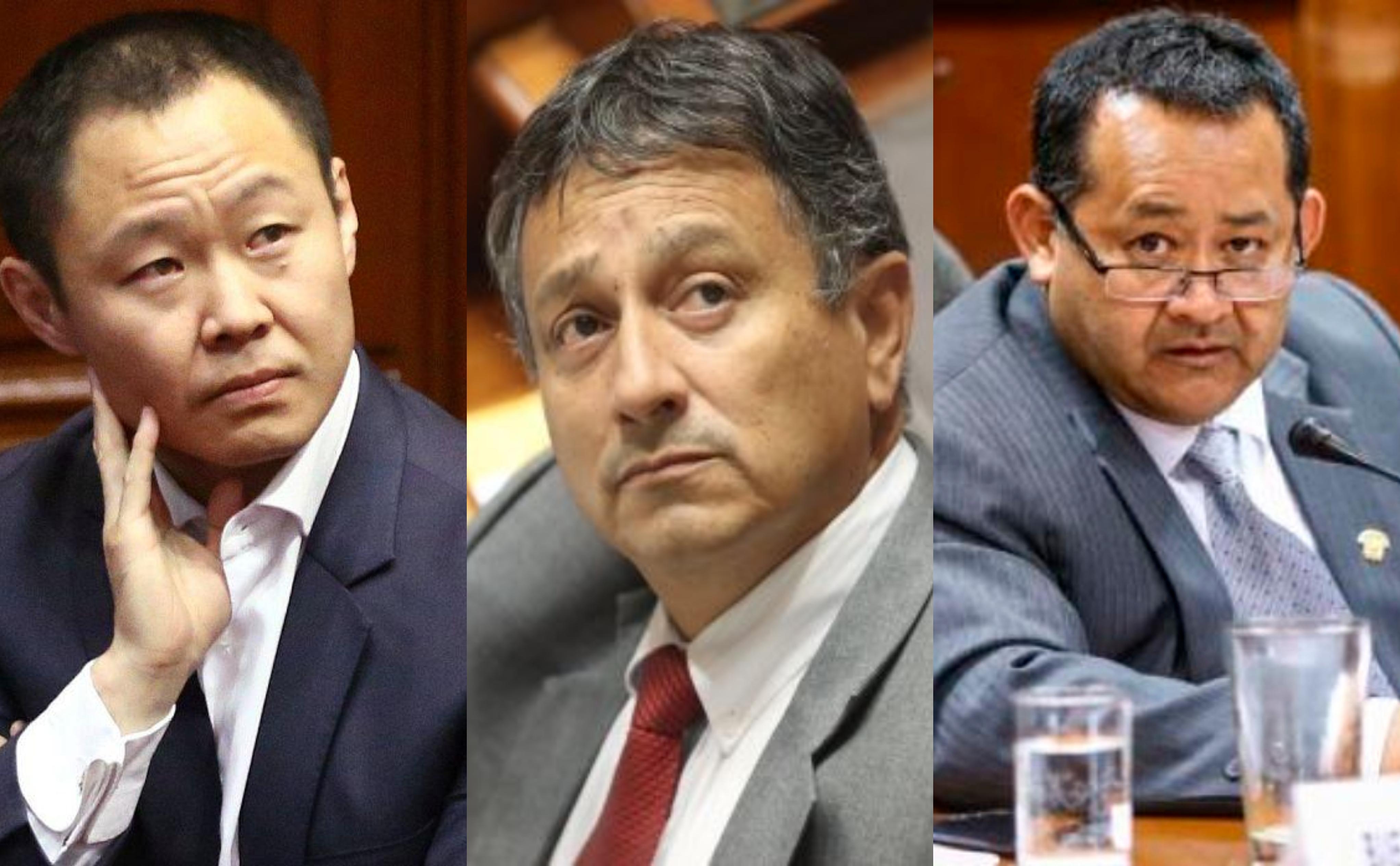 Informe recomienda destitución de congresistas Fujimori, Bocángel y Ramírez
