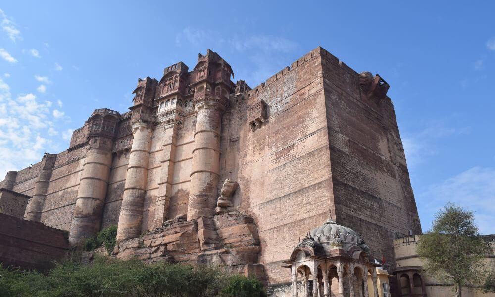 Cobblestone Mazes In The Mighty Jodhpur