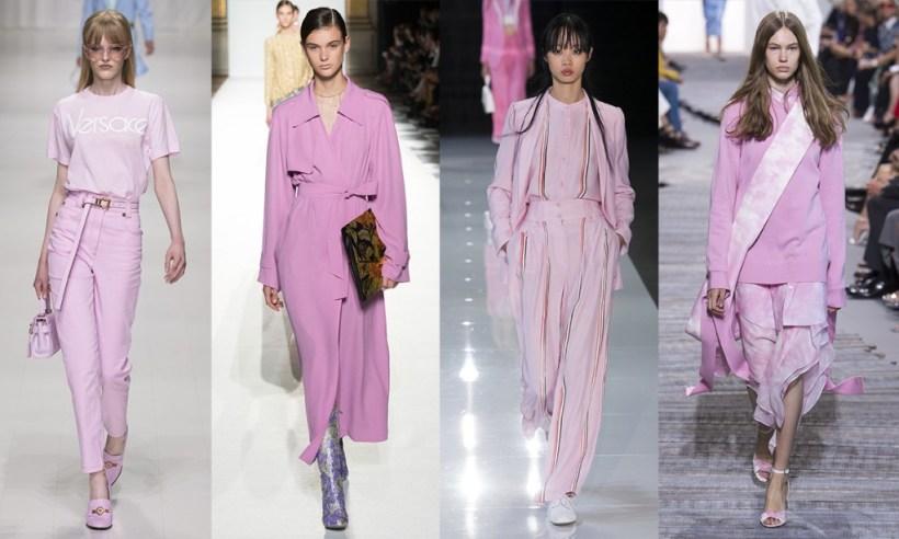 Colorr trends Spring 2018 Pink Lavender