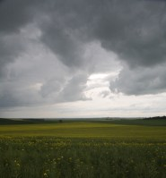 Storm clouds, Gatinais, France