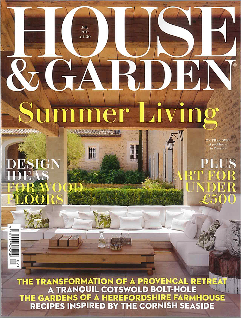 Cover of House & Garden Magazine, July 2017