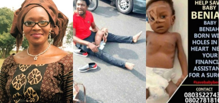 Sick baby Benaiah story is a well-orchestrated Scam – Kemi Olunloyo