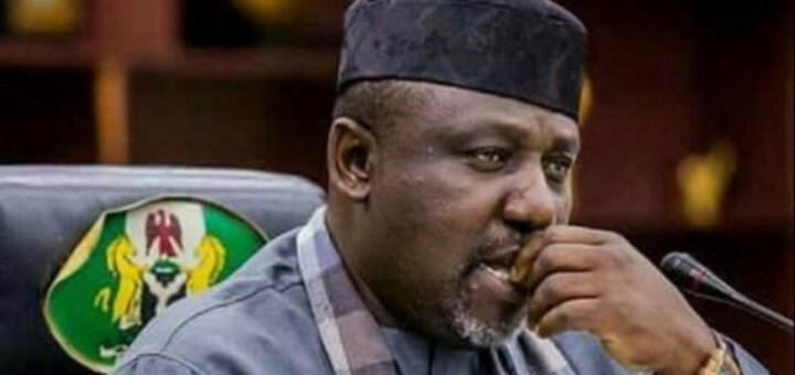 #Elections2019: Rochas Okorocha's name missing from list of Senators-Elect released by INEC