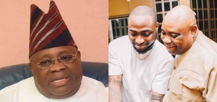 Osun Governorship Election: Davido reacts to his Uncle Ademola Adeleke win at the Tribunal