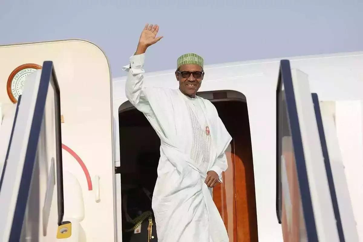 President Buhari departs Nigeria for Senegal