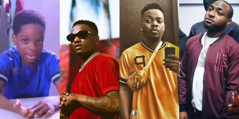 Wizkid's son, Boluwatife reveals why he would love to style him