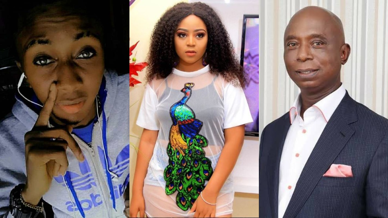 Image result for The Wealth You Are Flaunting Is My Mother's Sweat – Ned Nwoko's First Son Blasts Regina Daniels