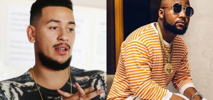 Rapper AKA swipes aim at fellow SA rapper Cassper Nyovest after he praised Nigerian Music Industry