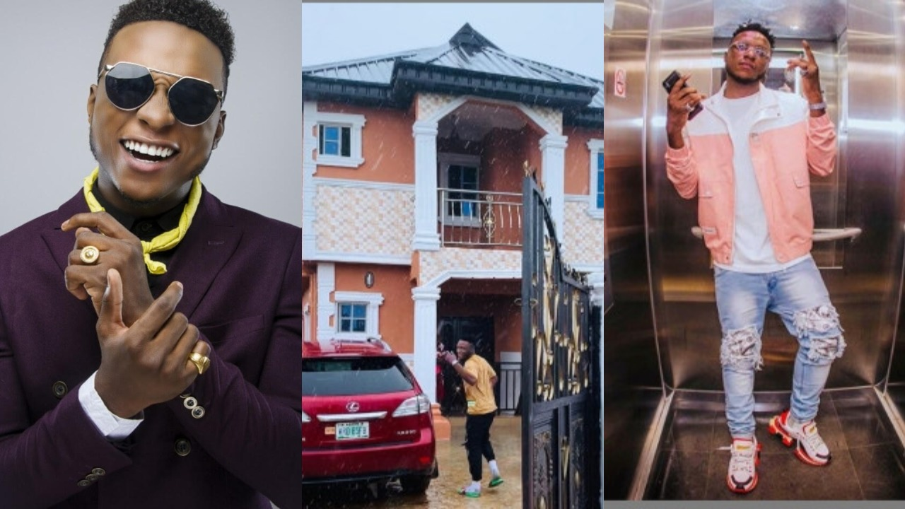 DJ Kaywise shows off his new House as becomes a Landlord