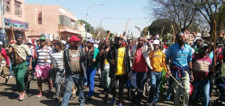 """#Xenophobia: """"Foreigners must leave"""" - Protesters in SA chant in Fresh Protest (Video)"""