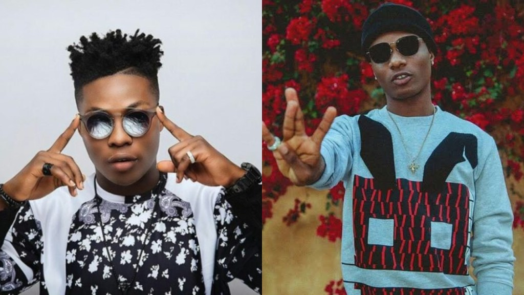 Reekado Banks asks Wizkid to add him to list of performing Artistes for 02 Arena (Screenshot)