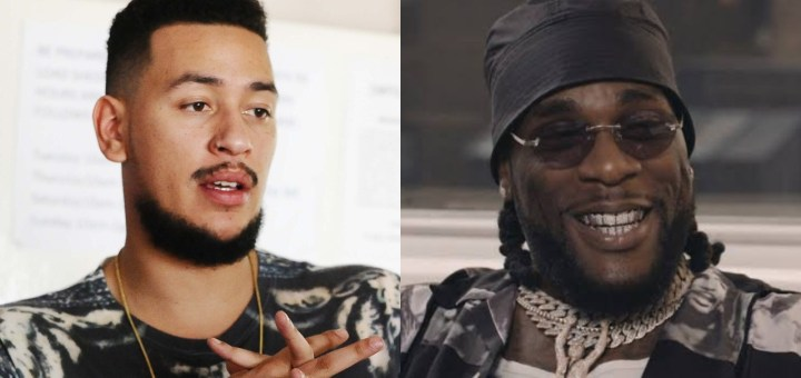 SA rapper, AKA dares Burna Boy to 'put his hands on him in his own Country'