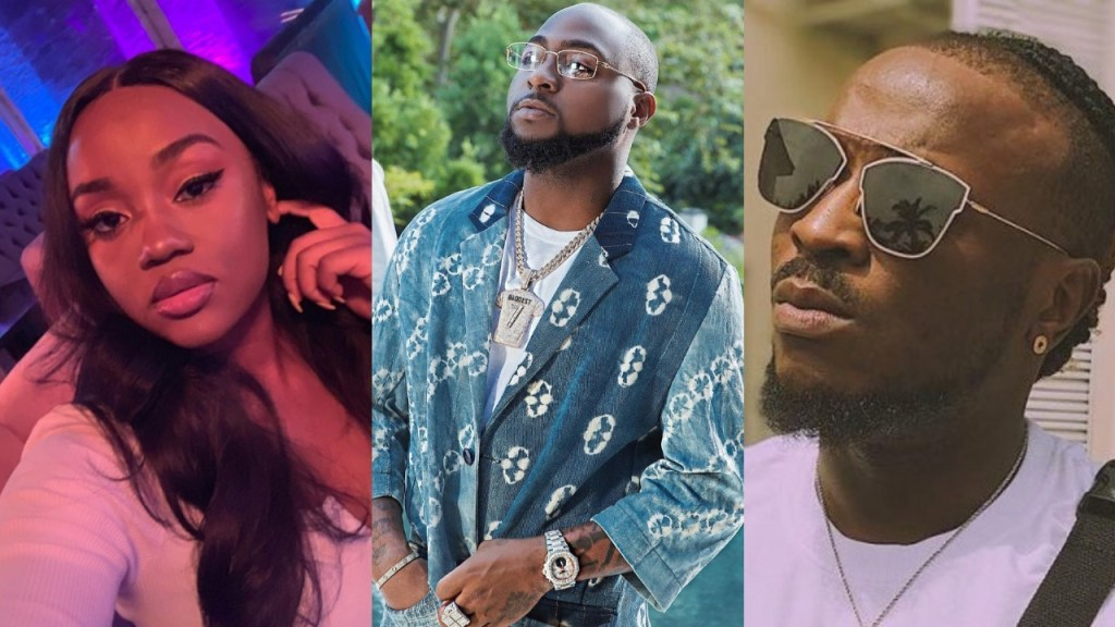 'Only God knows your real age' - Peruzzi & Chioma playfully mock Davido as he celebrates his birthday (Screenshot)