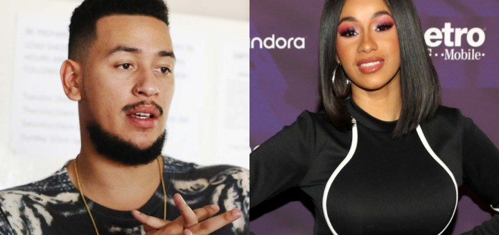 We hosted the World Cup, You hosted Cardi B Rapper AKA mocks Nigerians (Photos)