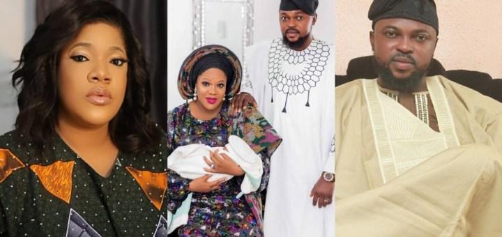 'U TILL THE END' - Kola Ajeyemi assures his wife Toyin Abraham of everlasting love