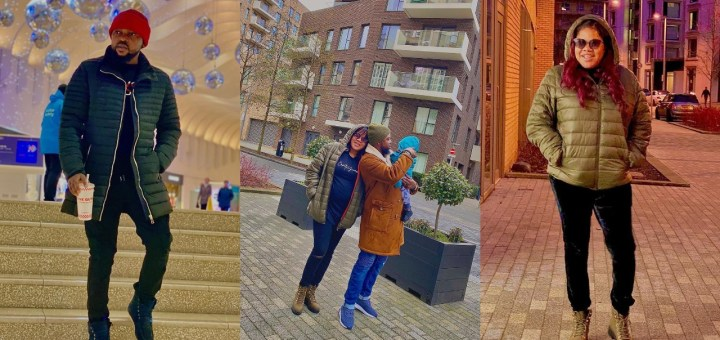 Toyin Abraham and family all loved up as they Vacation in London (Photo)