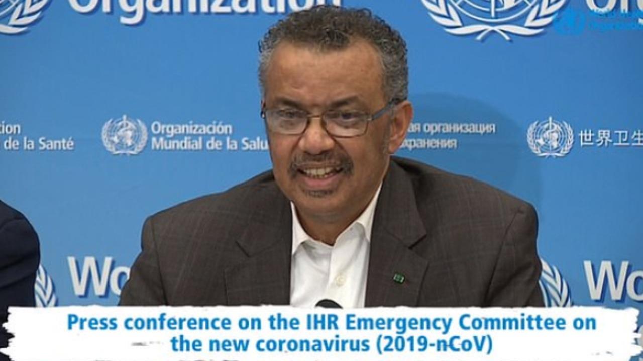 who declared global health emergency over coronavirus