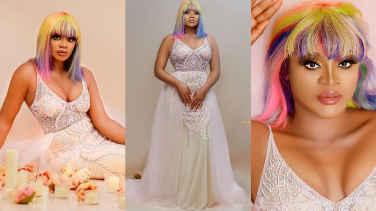 Actress Uche Ogbodo releases stunning photos to mark her 34th Birthday
