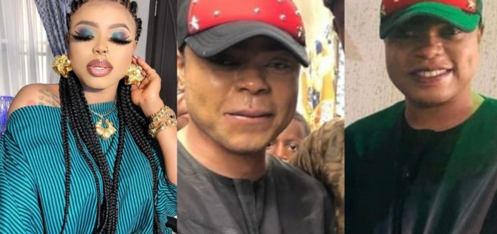 Bobrisky reveals why he dressed like a man to attend his father's Birthday Party