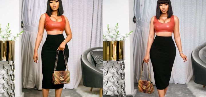 I Got My Attitude From Mama - Mercy Eke Says As She Flaunts Her Curves