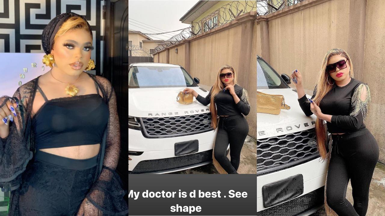 Bobrisky flaunts huge curves online, says his Plastic Surgeon is the Best (Photo)