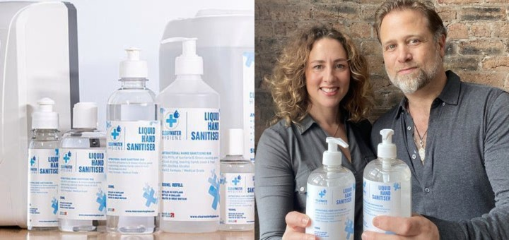 Couple who started hand sanitiser business in 2020 set to make £30m