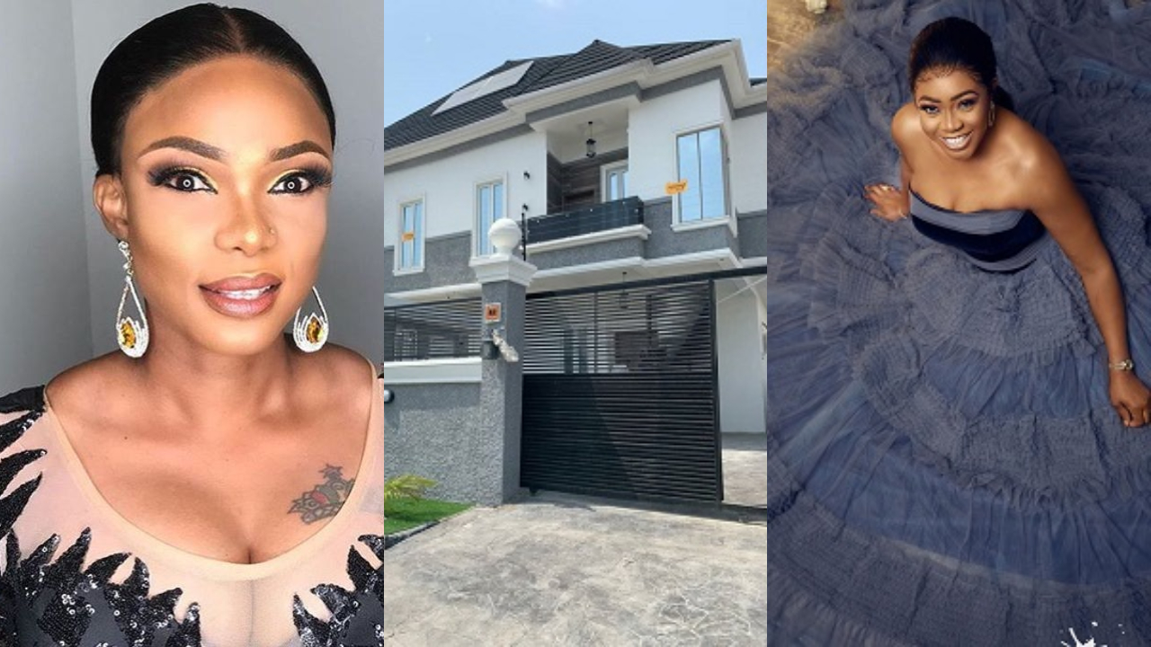 Despite buying her house before me, Omo Britico didn't announce it, but waited for me to get mine - Iyabo Ojo