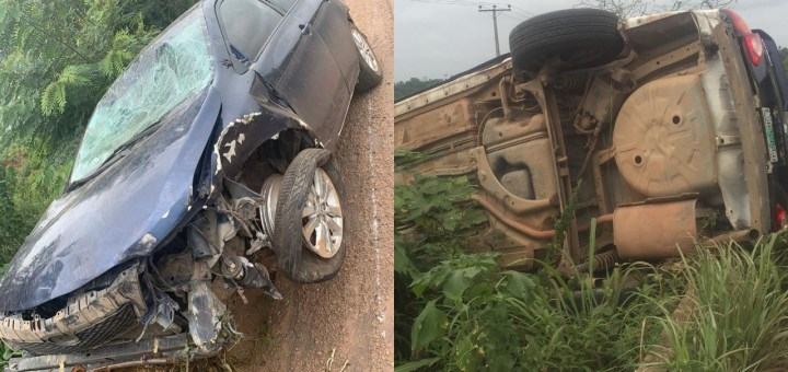 Police demanding N200k after a politician's escort hits a car, nearly killing all occupants
