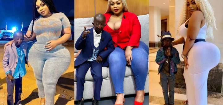 """""""We've proved size doesn't matter"""" - Curvy plus-sized model, Eudoxie Yao speaks on her love life with her small sized fiance Grand P (Photos)"""