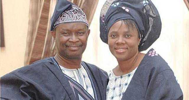 Mike Bamiloye & his wife, Gloria celebrate their 32nd wedding anniversary