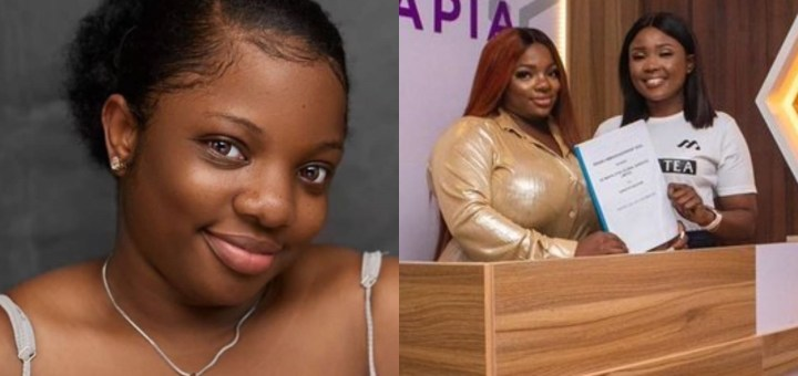 With my full CHEST! Let's get waisted - #BBNaija Dorathy says after bagging an endorsement deal