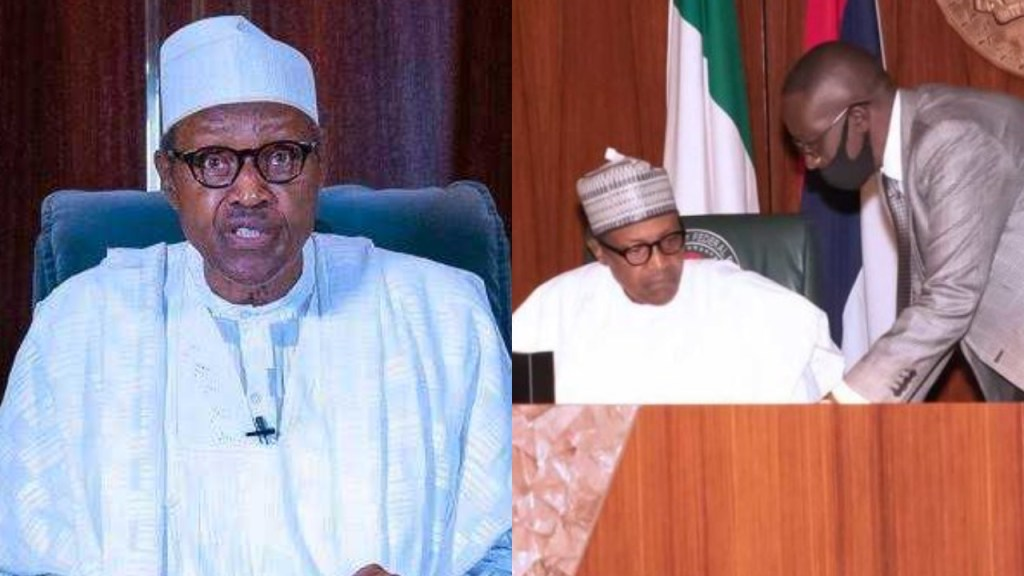 Use any lawful means to bring back law and order - President Buhari tells law enforcement agents