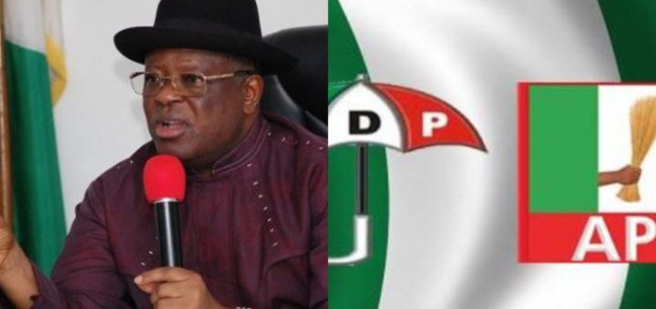 'I left PDP because of injustice' - Gov Umahi dumps PDP for APC