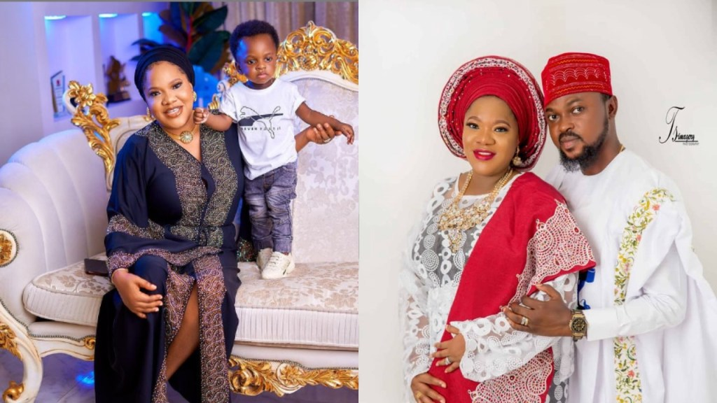Nigerians Advise Toyin Abraham Not To Do DNA For Her Son, Ire