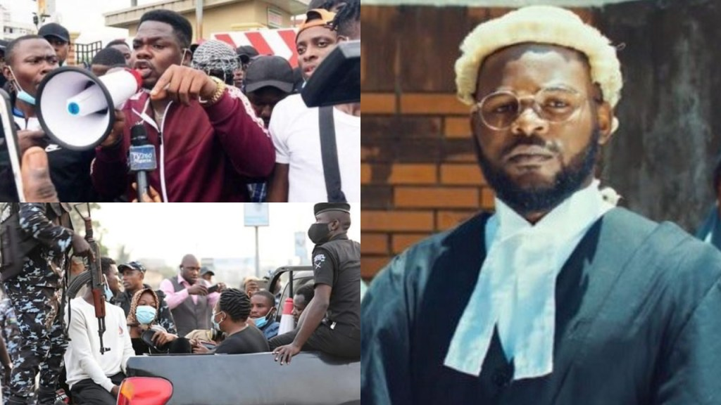 #OccupyLekki: 'Government doesn't want peace' - Falz faults Mr Macaroni others' arrest